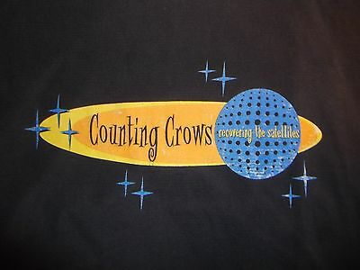 vintage COUNTING CROWS Recovering The Satellites 1996 Shirt XL rare oop