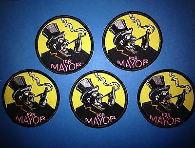 5 Lot Batman Collectable Jacket Hoodie Hat Backpack Patches Penguin for Mayor