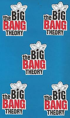 5 Lot Big Bang Theory TV Series Iron On Jacket Hat Hoodie Patches Crests