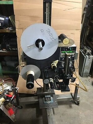 Label-Aire 2114CD Pressure Sensitive Labeler With Air Assist Label Applicator