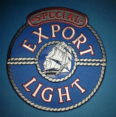 Pabst Heileman's Special Export Light Lager Beer Employee Uniform Iron On Patch