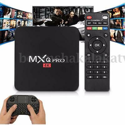 MXQ Pro Fully Loaded 16.1 4K Android5.1 Smart TV BOX Quad Core WiFI & Keyboard
