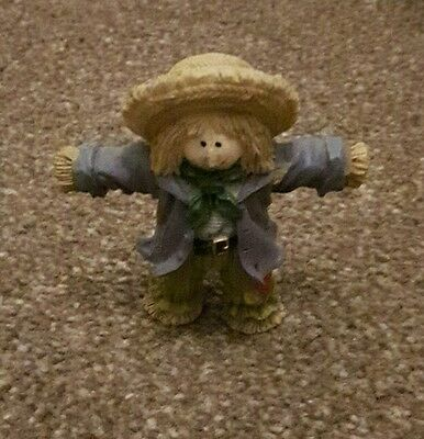 Scarecrow Pottery Ornament