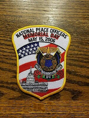 National Peace Officers Patch. May 15, 2006. Washington, Dc