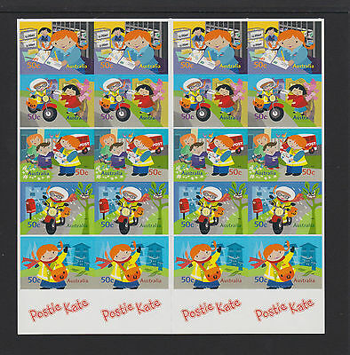 Australia 2006 : Postie Kate, Booklet of 20 x 50c Self-adhesive Stamps,