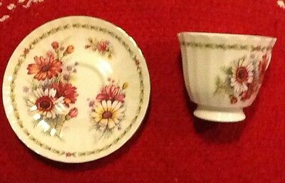 Vintage Duchess Fine Bone China Tea Cup and Saucer