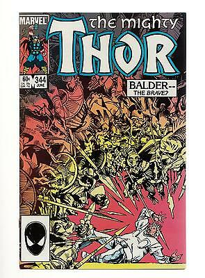 The Mighty Thor #344 1st Malkeith (Marvel 1984) NM- 9.2