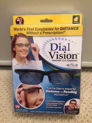Dial Vision Adjustable Lens Eyeglasses As Seen On TV