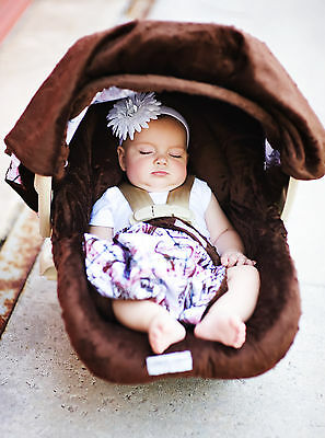 New Carseat Canopy Caboodle Infant Car Seat Canopy Cover 5 piece Set Covers