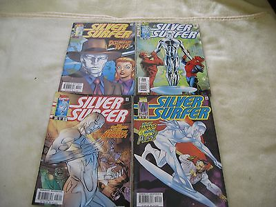 4 Silver Surfer Marvel Comics Issues 126-129 Spiderman And Daredevil