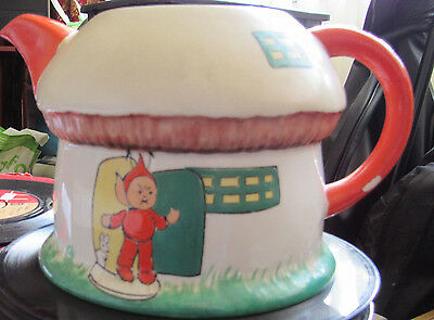 Vintage Mable Lucie Attwell Boo Boo Tea Pot By Shelley