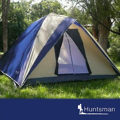 BRAND NEW 6 man person Huntsman camping dome tent