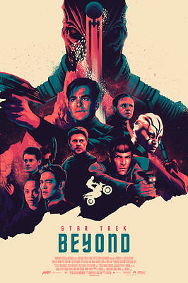 STAR TREK BEYOND ~ Super Rare MONDO High Quality Poster numbered of 250 only