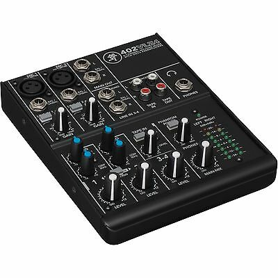 Mackie 402-VLZ4 - 4-Channel Ultra Compact Mixer