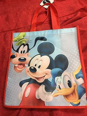 Disney Mickey Mouse Clubhouse Trick Treat Halloween Candy Bag - Reusable Grocery