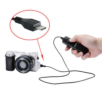 Neewer DSLR Camera Shutter Release Trigger Wired Remote for Sony Alpha A7