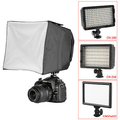 "Neewer 7""x 6"" Mini Small PRO LED Photography Studio Soft Box for CN126"