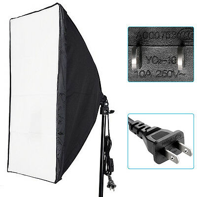 NEEWER 50x70cm studio softbox diffuser with E27 socket for fluorescent bulb lamp