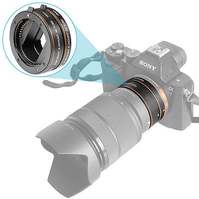 Neewer ABS Auto-focus Macro Extension Tube Set 10mm 16mm for Sony NEX E-mount