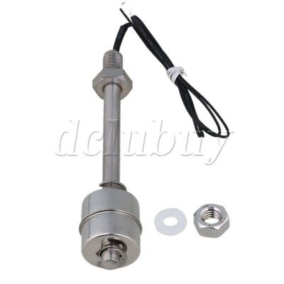 109mm Stainless Steel Vertical Liquid Water Level Sensor Float Switch