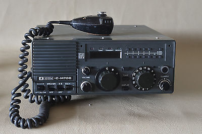 ICOM IC-M700 Marine SSB Radiotelephone Transceiver in a good working condition