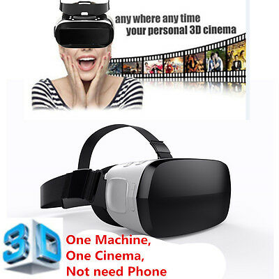 360° Virtual Reality Glasses Smart Octa Core 3D VR Box HDMI USB TF WIFI Headset