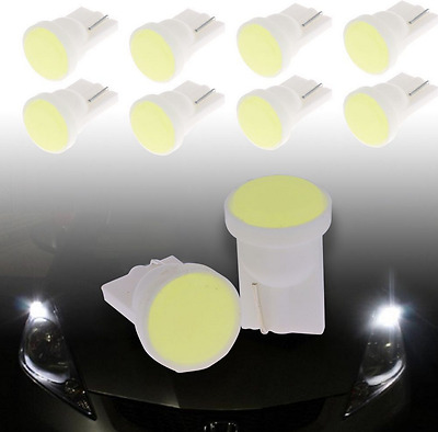 100X Car 1 LED COB SMD T10 W5W Wedge Side Light Bulb Lamp A068