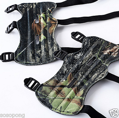 Camo Hunting Armguard Durable Quality Leather Handmade For Recurve Bow