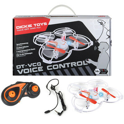 Dickie DT VCQ Voice Control Quadcopter Quadrocopter Drohne Fern Sprach Steuerung