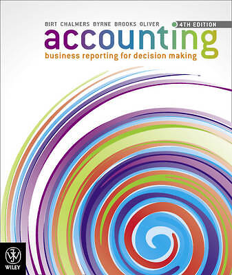 Accounting Business Reporting for Decision Making 4E by Birt (Paperback, 2012)