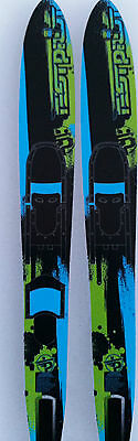 water skis widebody adult combos test pliot 67 inch
