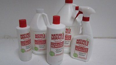 Natures Miracle Stain and Odor Remover Natural Enzymes Eliminate Odors