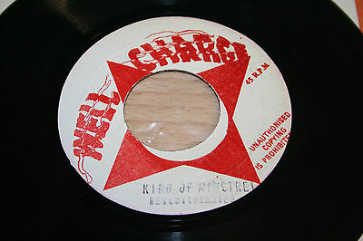 """The Revolutionaries King Of Minstrell 7"""" Vinyl Single Well Charge"""