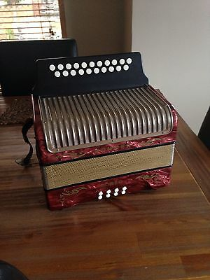 Hohner Corso Button Accordion (made In Germany).
