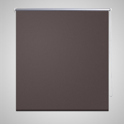 S# Roller Blind Blackout 80x175cm Coffee Daynight Window Blinds Sunscreen Qualit