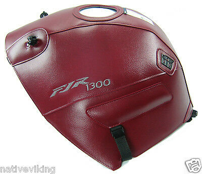 BAGSTER TANK COVER Yamaha FJR1300 2002 claret red PROTECTOR free UK post 1420C