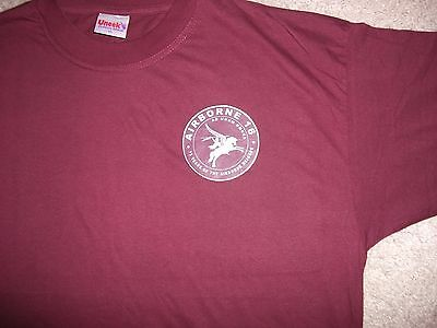 Parachute Regiment Airborne Forces Tee Shirt 75 Years Of The Airborne Brigade