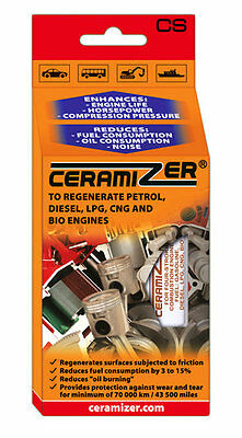 Ceramizer® for 4 stroke combustion engines -oil additives for the repair