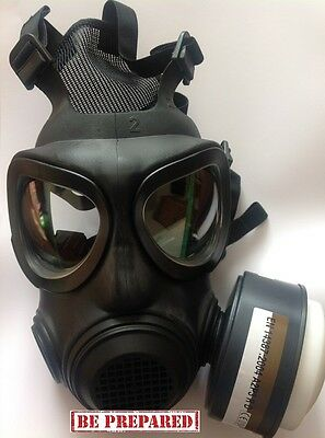 Forsheda A4 Gas Mask with Arco-40mm-din-screw-filter-a2p3-r 2018