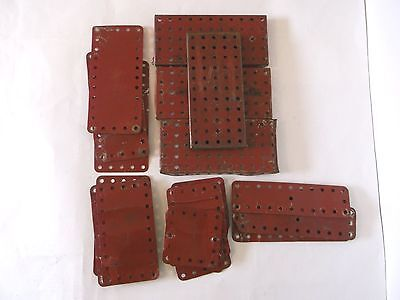 MECCANO selection of bases and plates