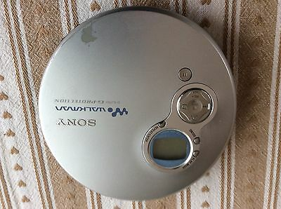Sony Walkman D-Ej750 Cd Player With G- Protection