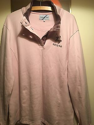 Harry Hall Long Sleeved Polo Size Large