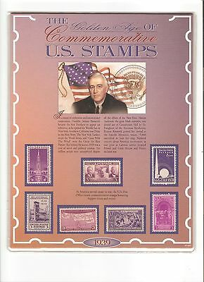 United States 1939 Commemorative Mounted Mint Collection Presentation Pack