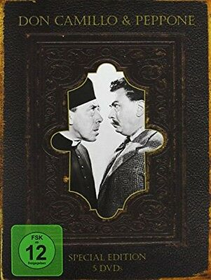 Don Camillo & Peppone Edition Box - Special Edition - NEU - 5 DVDs Bibeledition