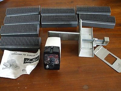 Airequipt Automatic Slide Changer with Instructions and 8 Magazines