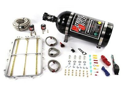 Nitrous Outlet Wet Nitrous Kit Holley Hi Ram Single Stage Spacer Plate-50-300HP