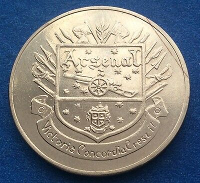 Arsenal  Fa Cup Centenary  (1872  - 1972 ) Esso Coin / Medal
