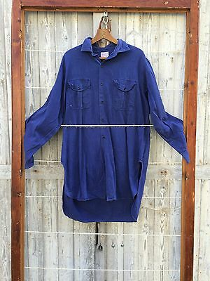 Work clothes Adolph Lafont Shirt French vintage textile 60's
