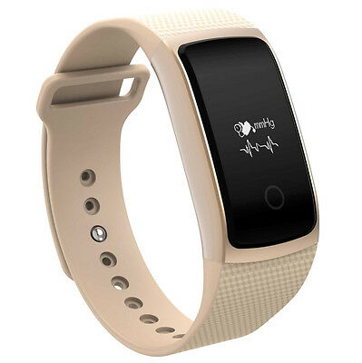 A09 Bluetooth NFC Wireless HD Heart Rate Smart Watch For Android IOS GD