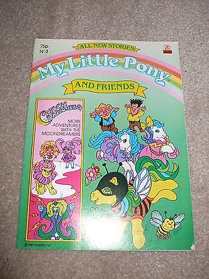 Rare and Hard to Find Vintage My Little Pony and Friends Comic No.75 1987